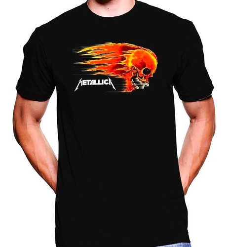 camiseta premium dtg rock estampada metallica 02