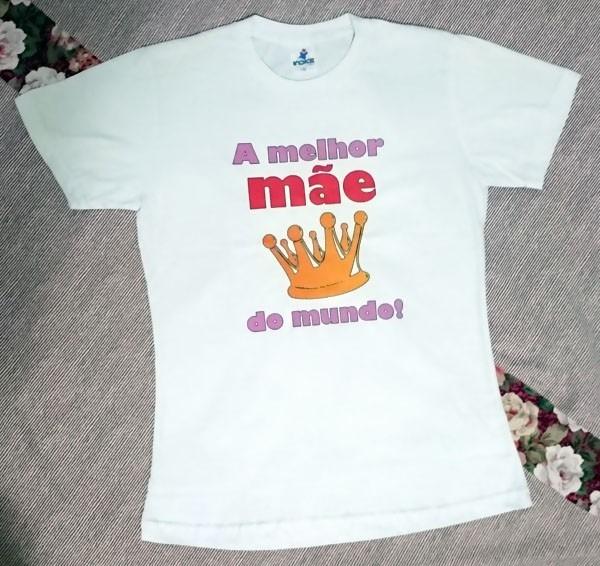 Camiseta Presente Dia Das Mães Coroa Frase Frete Grátis