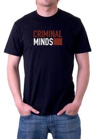 Camiseta Preta Criminal Minds Série 652