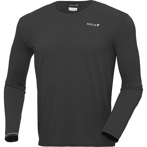 0672f1a78 Camiseta Proteção Solar Solo Ion Uv Manga Longa Preto Ggg - R  133 ...