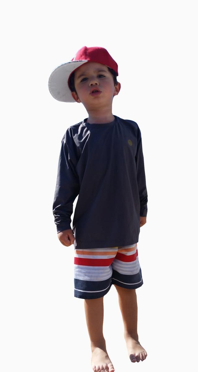 895d6e2160422 Camiseta Proteção Uv Infantil