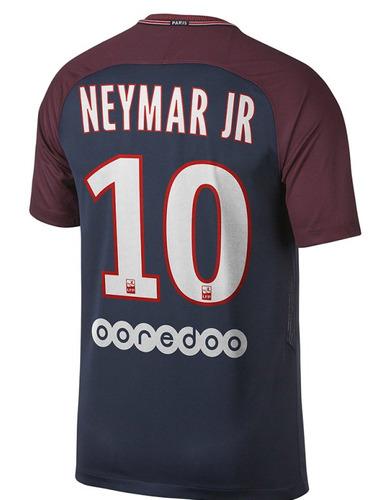 camiseta psg 10 neymar titular  match 2018
