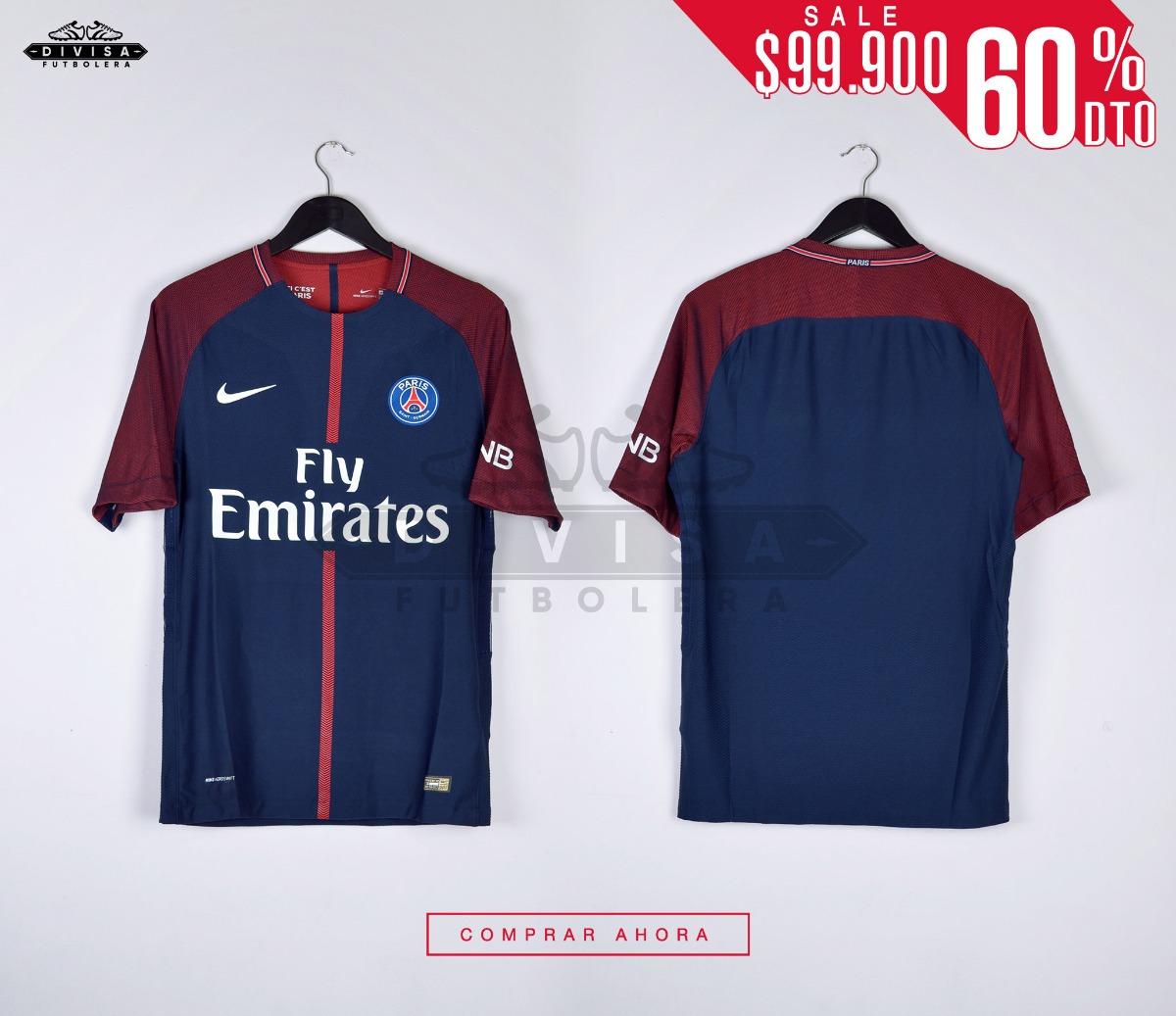 2d39f343f Camiseta Psg 17-18 Paris Saint Germain Neymar Jr
