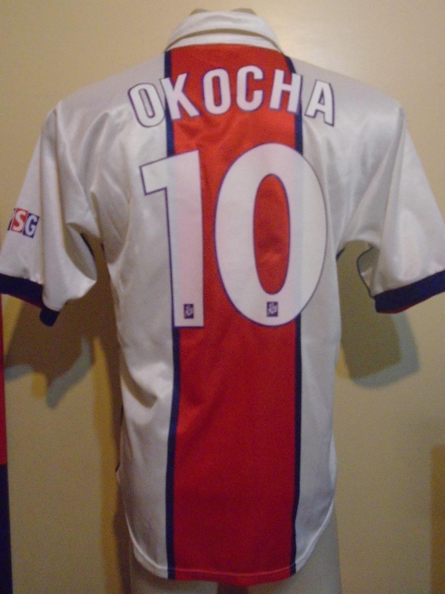 492819b099 camiseta psg francia 1998 1999 okocha  10 selección nigeria. Cargando zoom.
