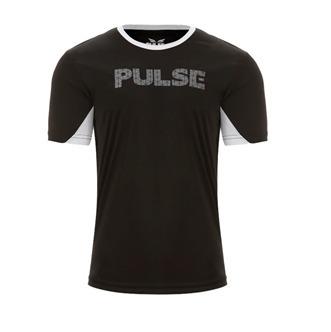 0b8d044b5 Camiseta Pulse Grupo Everlast Preta Detalhe Branco - R  34