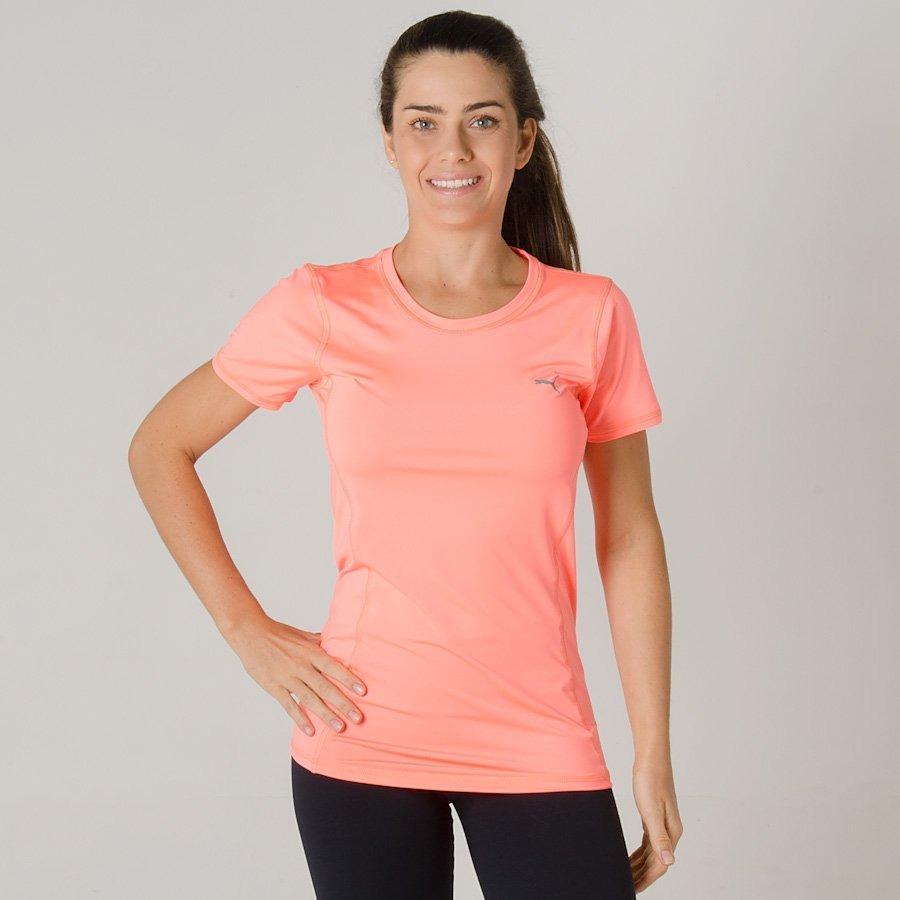 aa9a023861 camiseta puma essential tee nrgy feminina 51592112 - g - lar. Carregando  zoom.