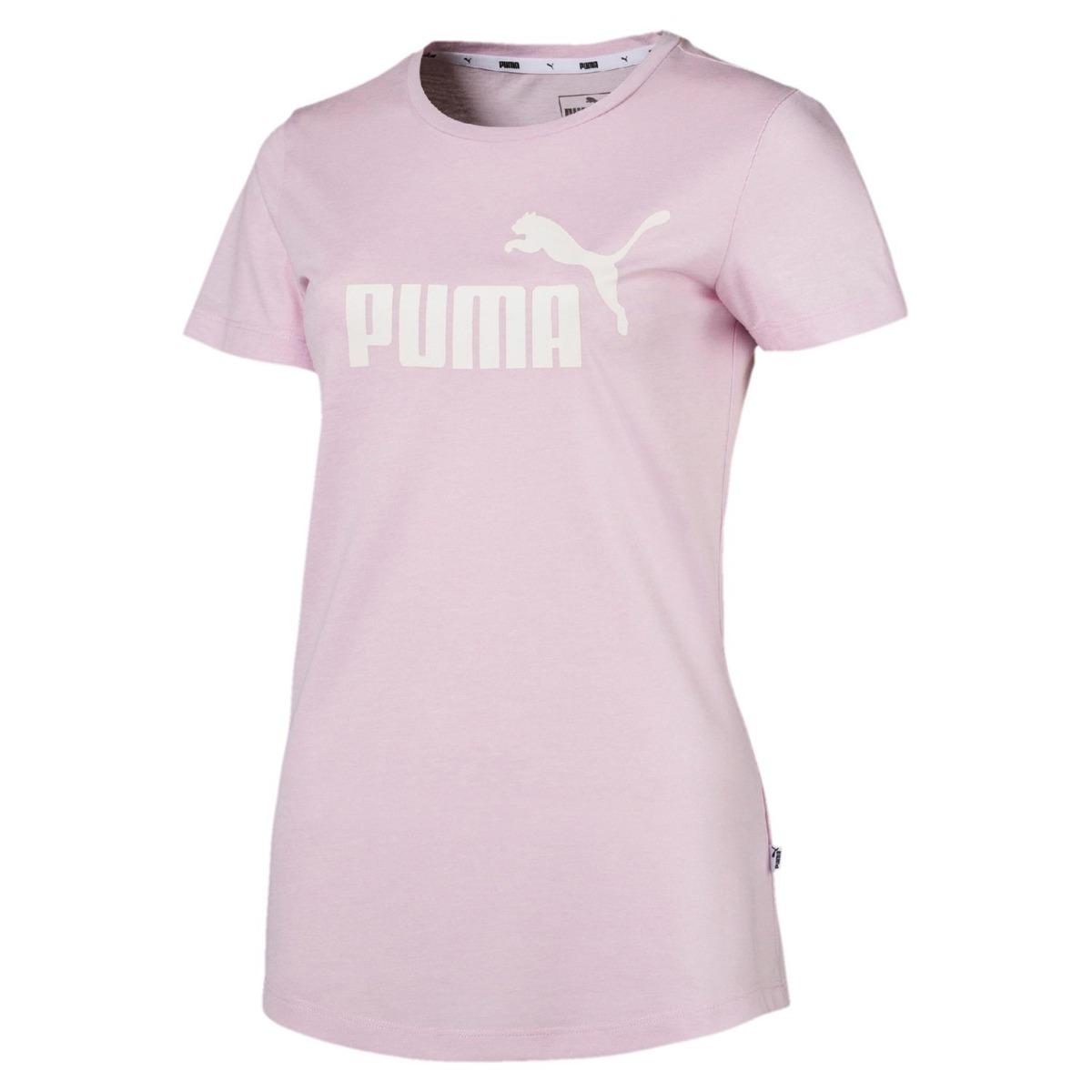 df25f46010 camiseta puma essentials heather tee feminina 85212746 - g -. Carregando  zoom.
