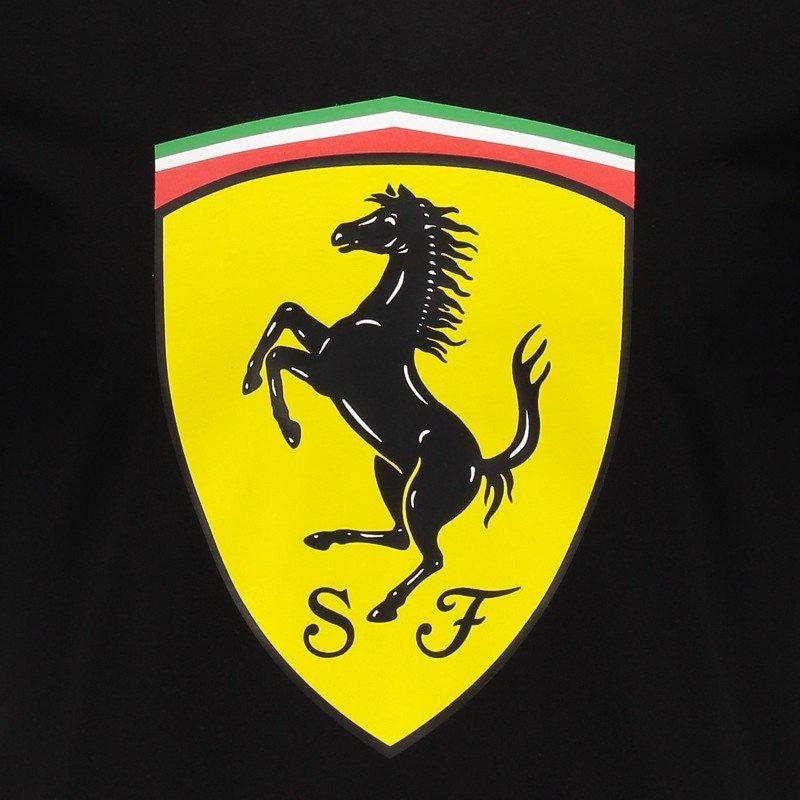 camiseta puma ferrari big shield preta. Carregando zoom. 4ee12e84c79