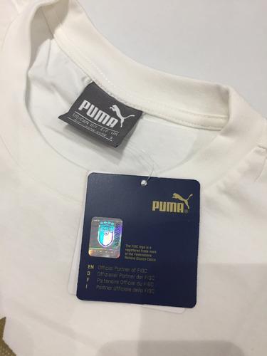 camiseta puma itália masculina p