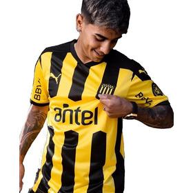 Camiseta Puma Peñarol Oficial Fútbol 2021 Adulto Hombre