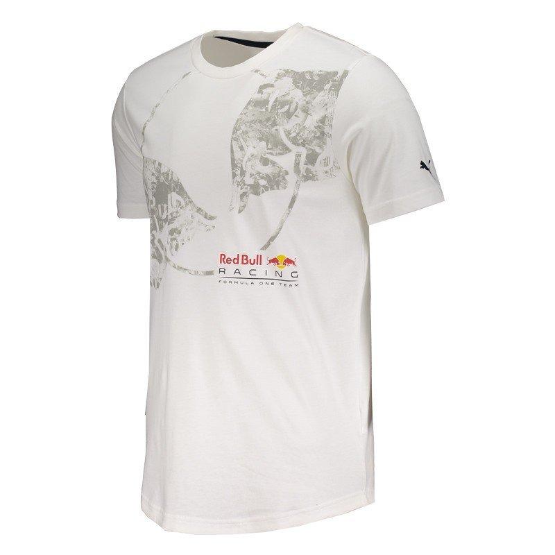 2d3e08e0e0a47 camiseta puma red bull racing escudo branca. Carregando zoom.