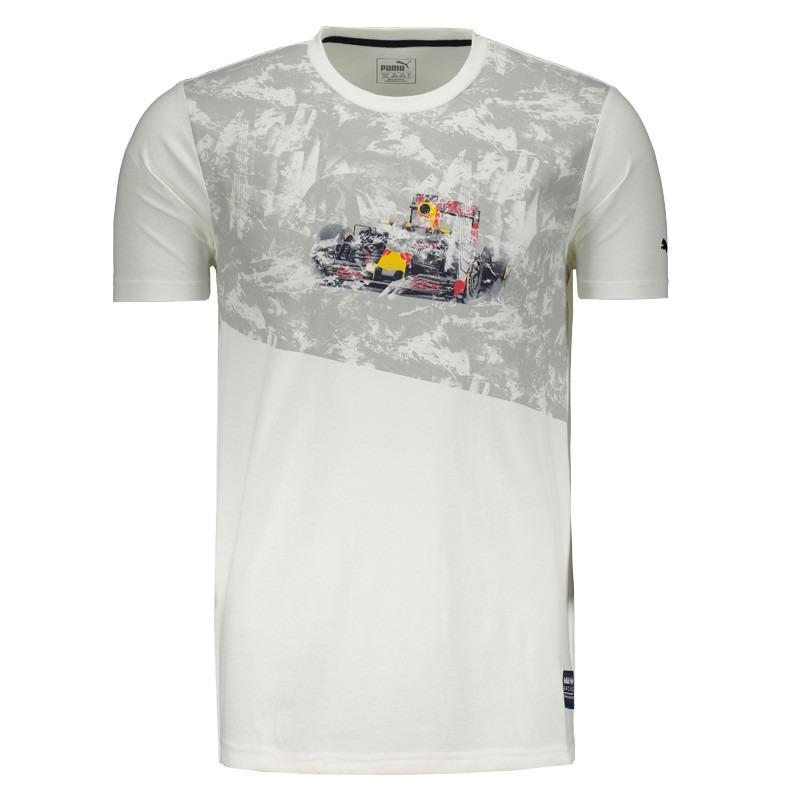 Camiseta Puma Red Bull Racing Graphic Ii - R  84 63783b1dc93