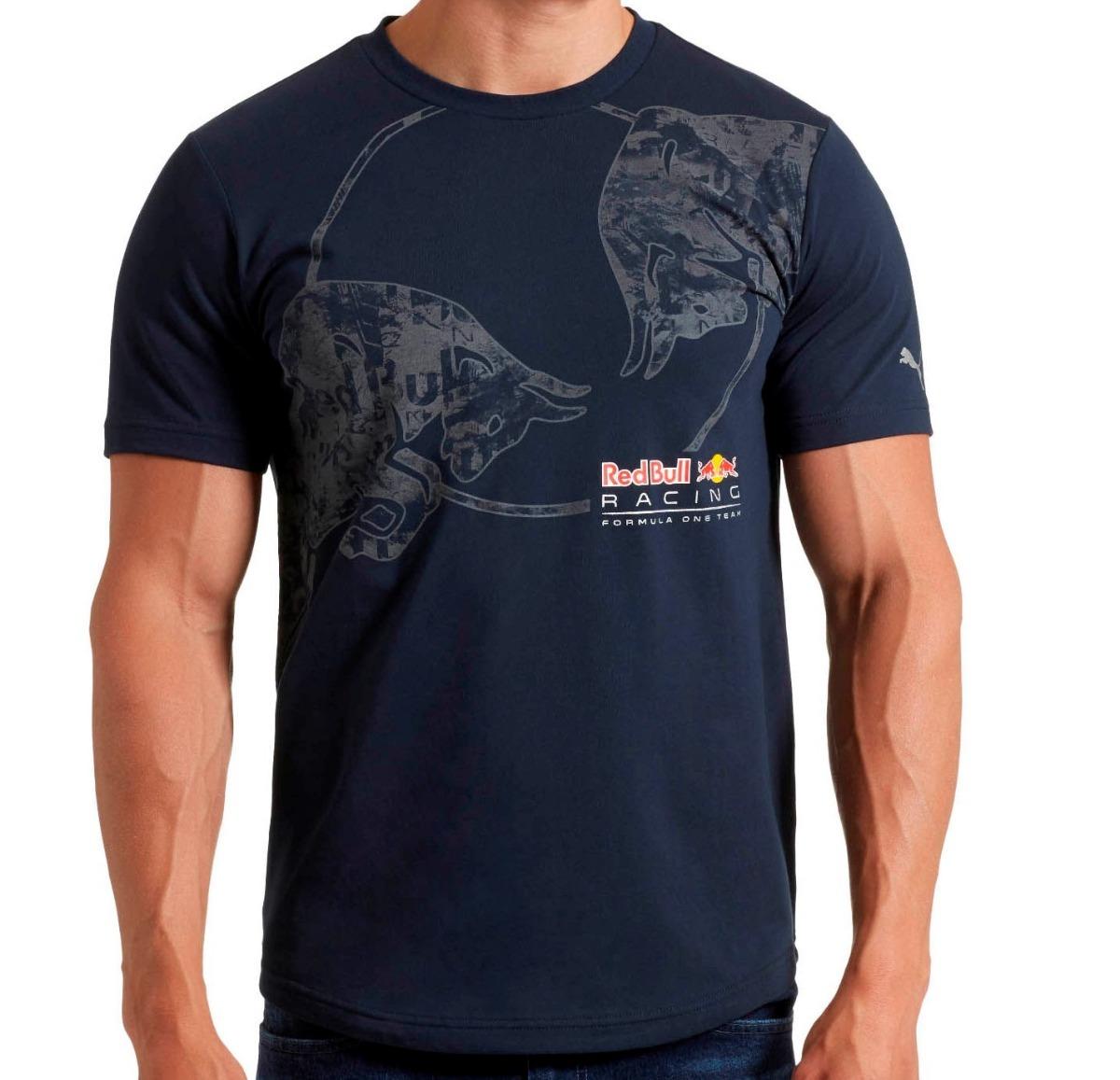 camiseta puma red bull racing total graphic marinho. Carregando zoom. 238e10a408d