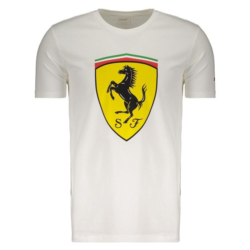 camiseta puma scuderia ferrari big shield. Carregando zoom. 97c4fd479ef