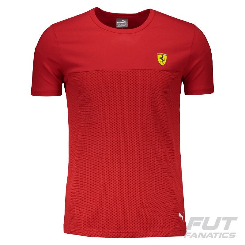 41147619a camiseta puma scuderia ferrari vermelha - futfanatics. Carregando zoom.