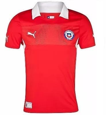 camiseta puma selección de chile 2012 / 2013 hombre rojo