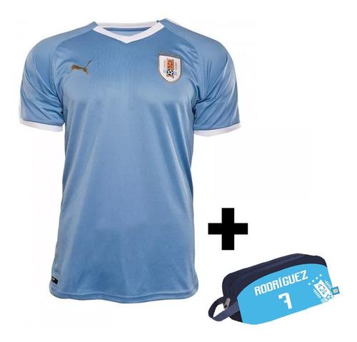 camiseta puma uruguay celeste selección uruguaya mvdsport