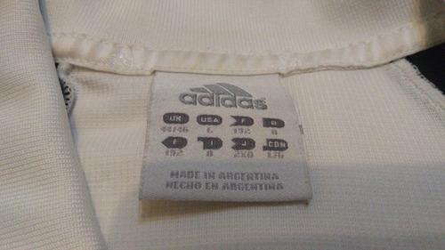 camiseta pumas blanca adidas talle l