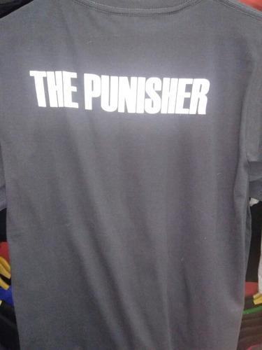 camiseta punisher castigador