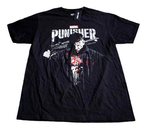 camiseta punisher netflix importada rock activity talla l