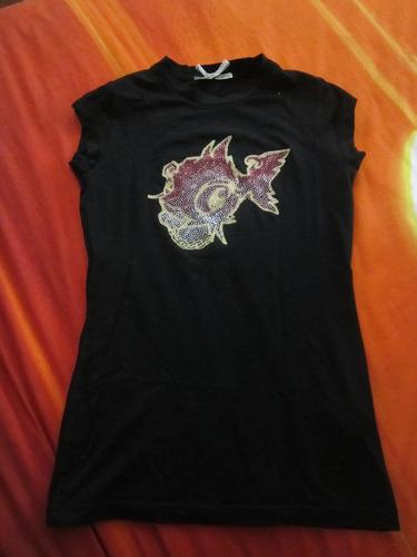 camiseta punkfish brillos