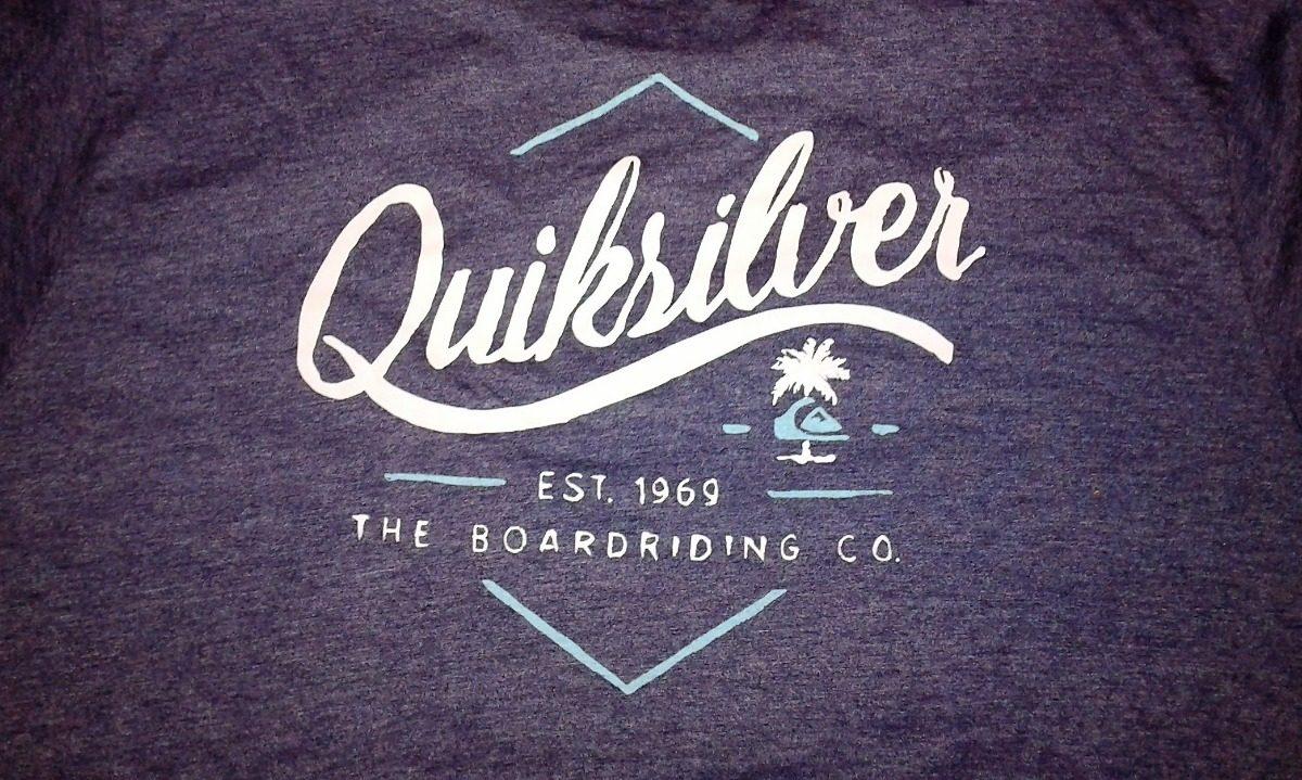 cabc780e78a2d camiseta quicksilver da loja oficial - regular fit tam.  gg. Carregando  zoom.