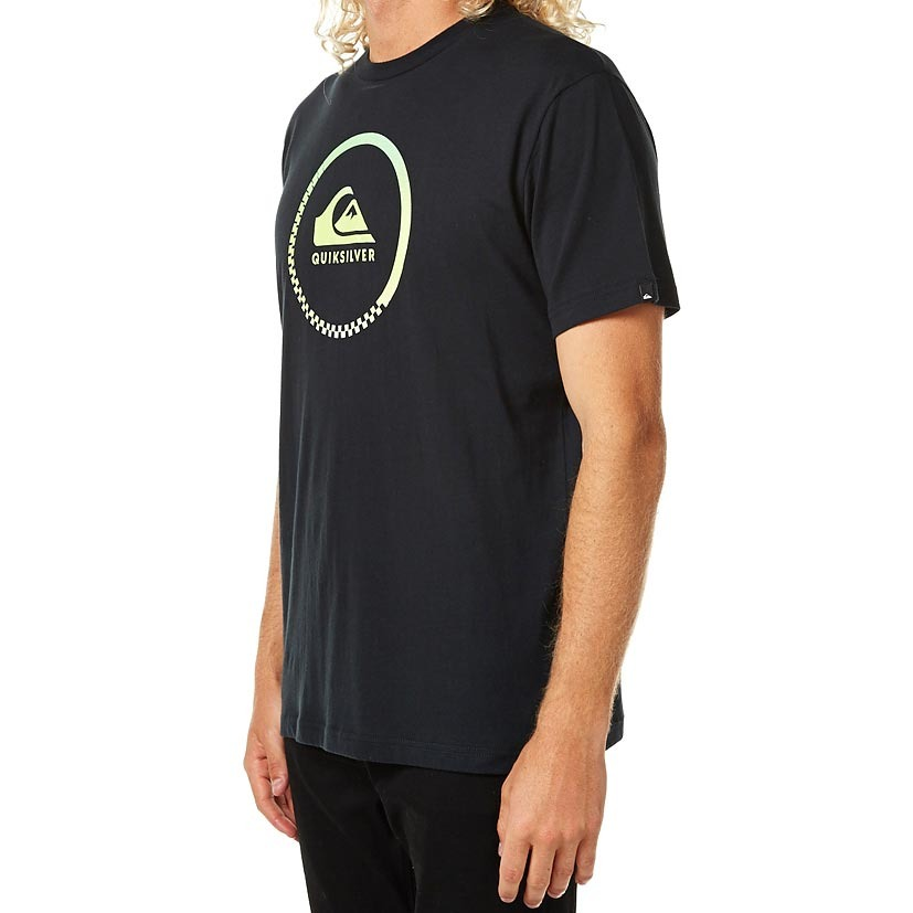 8eefd595048 camiseta quiksilver active logo - preto-xgggg 4x 4g. Carregando zoom.