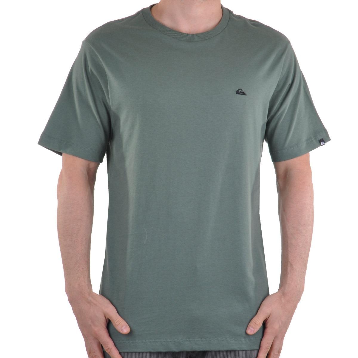 Camiseta Quiksilver Ambroyed Logo - Cut Wave - R  39 22d88dd7e45