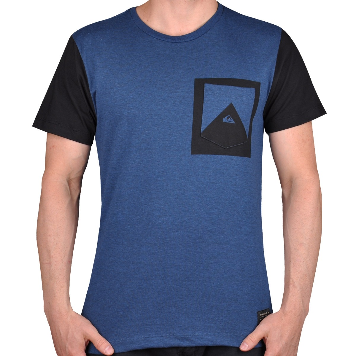Camiseta Quiksilver Card Azul - Cut Wave - R  59 62d58e1f577