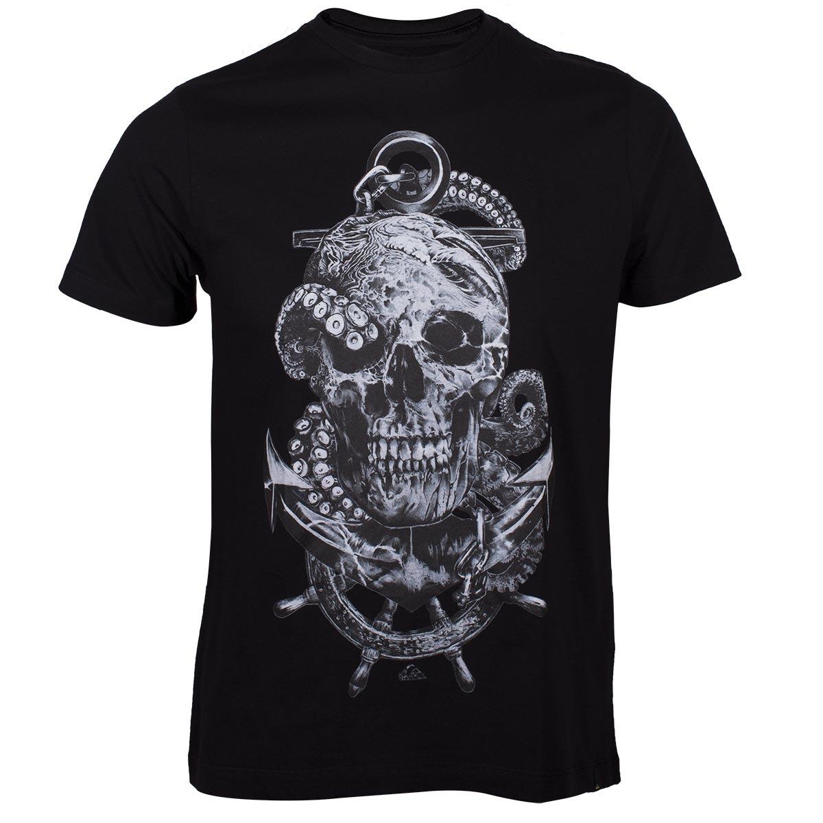 3c8fcf459f6 camiseta quiksilver draw - preto. Carregando zoom.