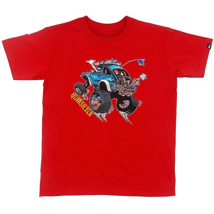 4c62c611c27 Camiseta Quiksilver Infantil Cabo Bound - Vermelho - R  70