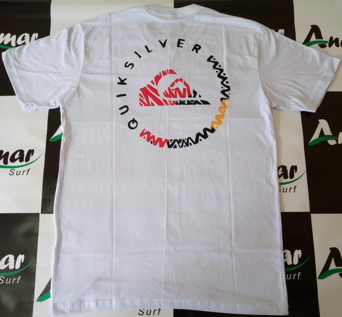 fa1ae4309198d Camiseta Quiksilver Original Masculina Top - Andimar Surf - R  54,00 ...