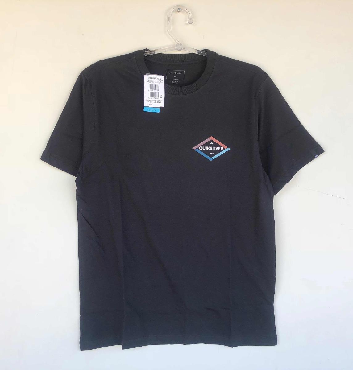 3ea5427f2fdd0 Camiseta Quiksilver Twister Verão 2018 19 - R  99,90 em Mercado Livre