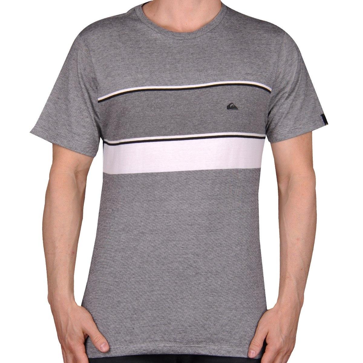 Camiseta Quiksilver Wolf Preto - Cut Wave - R  49 e3fb5ae6487