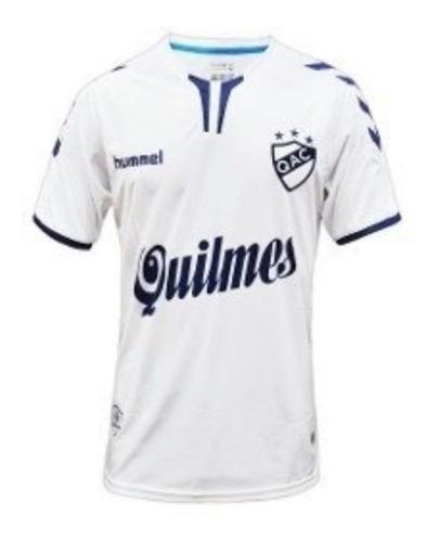 camiseta quilmes titular hummel 2018 original + numero