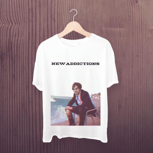 camiseta r5 - estampa exclusiva ellington new addictions