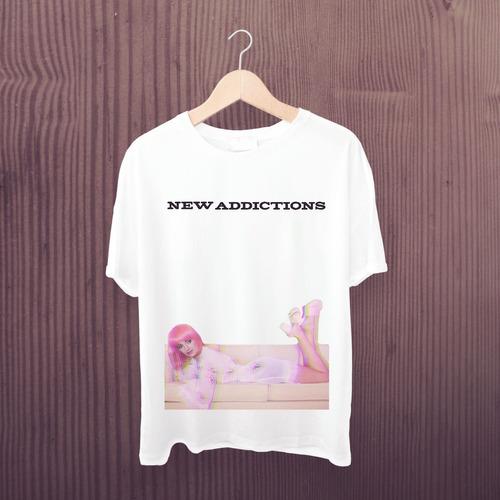 camiseta r5 - estampa exclusiva rydel new addictions