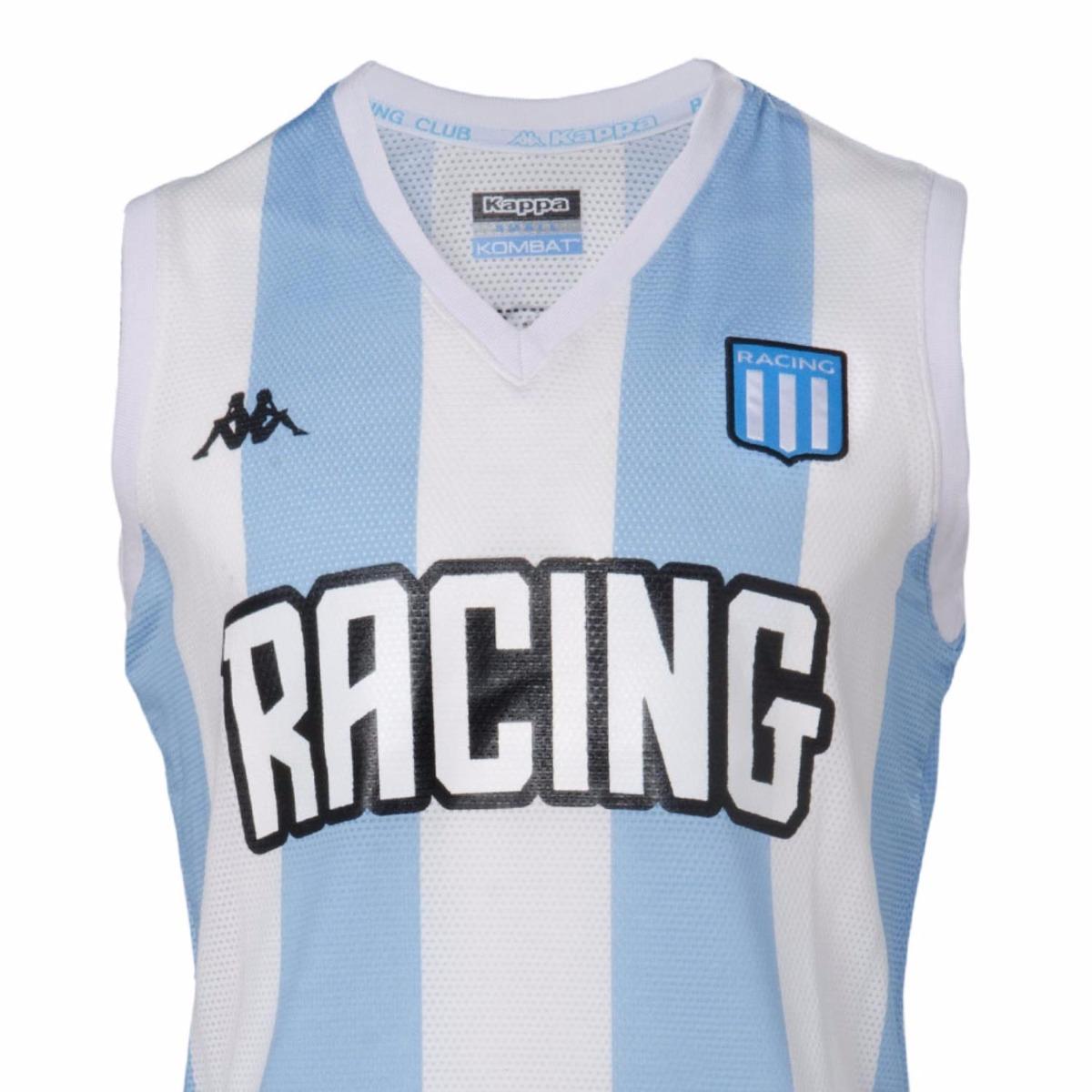 b4d4a1b3387ff Camiseta Racing Basquet Kappa 2018 Envíos A Todo El País -   999
