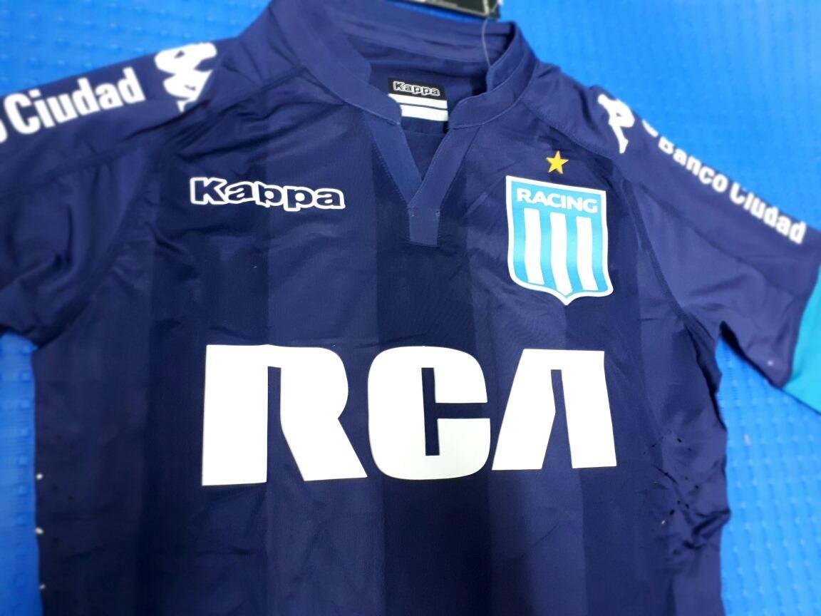 Camiseta Racing Club 2017 2018 Suplente Copa Sudamericana -   699 d470743518ae7