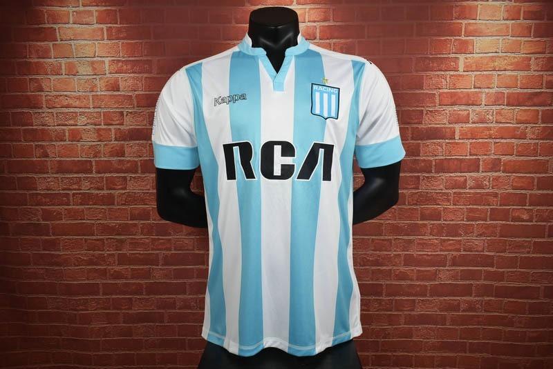 pacífico reposo palma  Camiseta Racing Club Argentina 2017-2018 Kappa - $ 149.900 en Mercado Libre