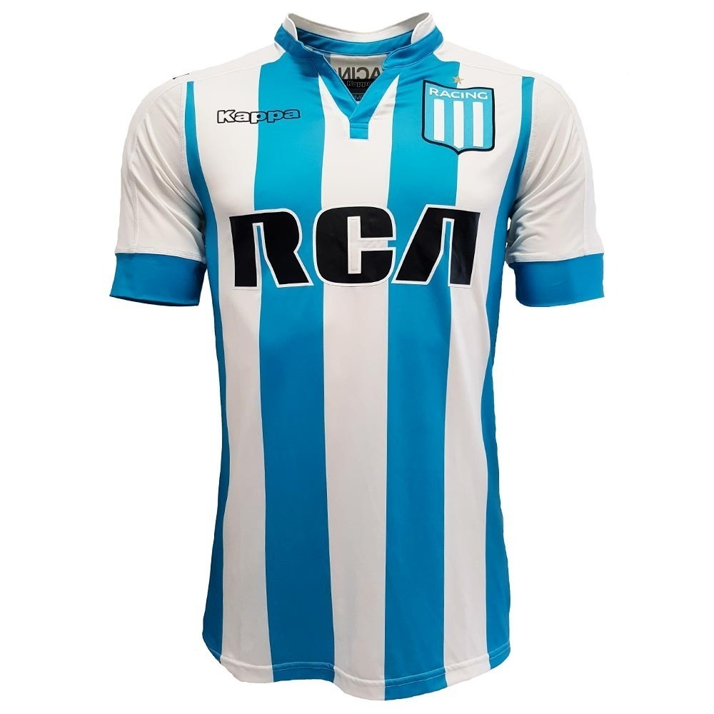 Camiseta Racing Club Avellaneda Titular 2017 18 Original -   1.550 ... dcc543a11ef8f