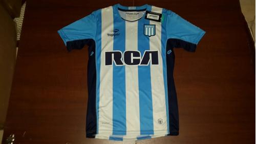 camiseta racing club titular 2016 #22 milito