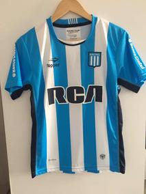 82ddc375e Camiseta Racing Topper Azul 2016 - Camisetas Blanco en Mercado Libre ...