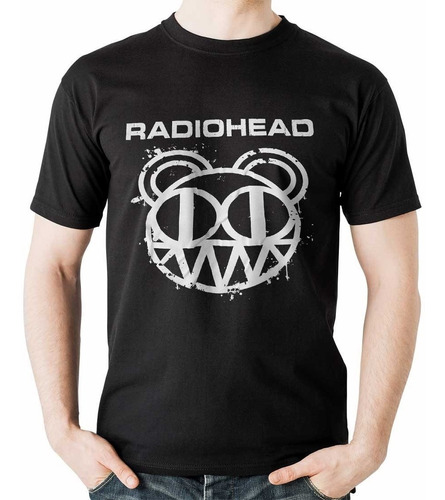 camiseta radiohead logo rock activity