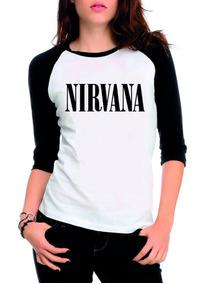 78515cba97 Camiseta Nirvana Cinza - Calçados