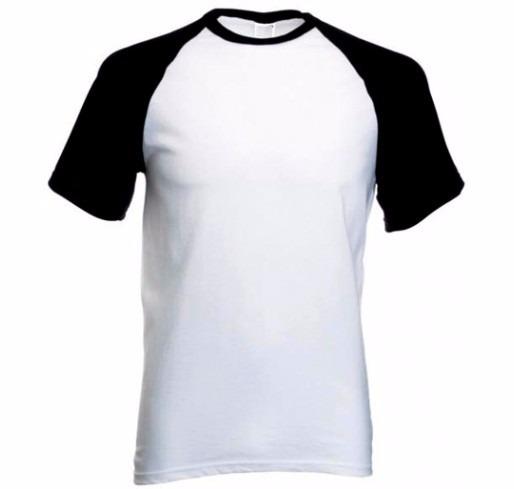 096b3c5ca9 Camiseta Raglan Algodão Para Sublimação 5 Unidades - R  103
