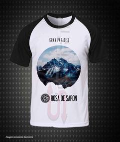 7ba31e6b5 Camiseta Banda Rosa De Saron - Camisetas no Mercado Livre Brasil