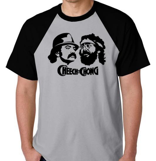 9367005db Camiseta Raglan Blusa Camisa Cheech Chong Maconha Filme Lol - R  39 ...