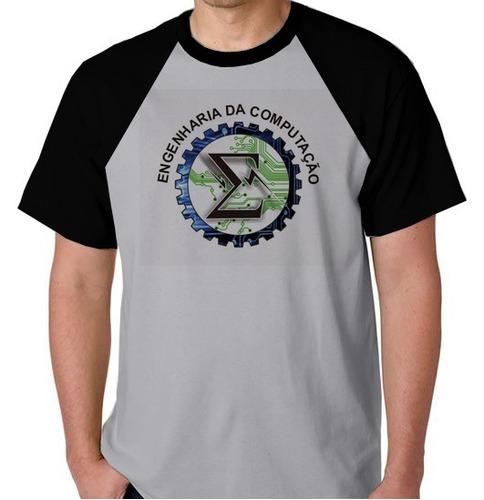 camiseta raglan blusa camisa engenharia da computação curso