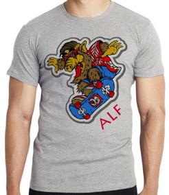 40b65b9d0 Camisetas Marcas De Skate - Calçados, Roupas e Bolsas no Mercado Livre  Brasil